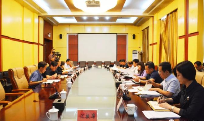 刘旋主持召开区委常委(扩大)会议