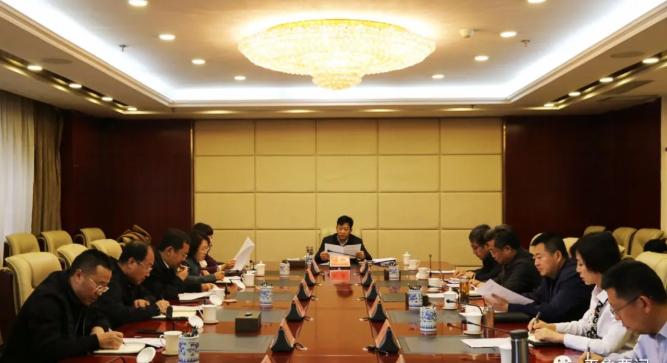 刘旋主持召开区委常委会第三十八次会议
