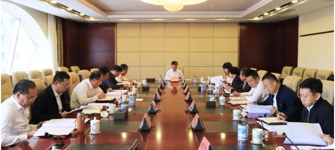 马占文主持召开区委常委会第三十二次会议