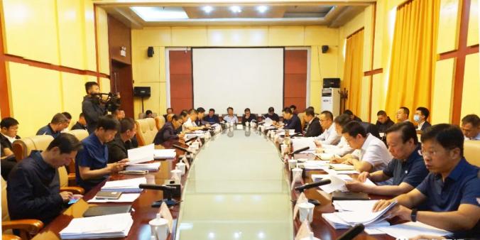 区政府召开第七次常务会议