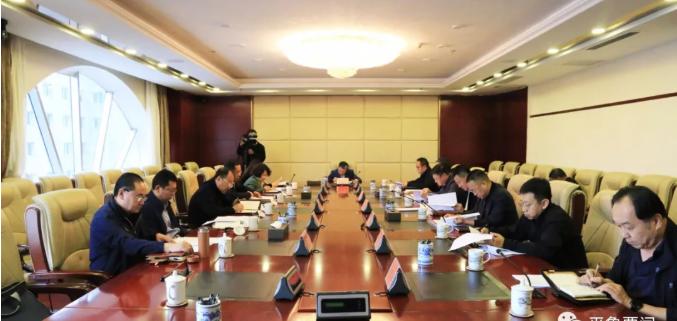 马占文主持召开区委常委会第三十五次会议